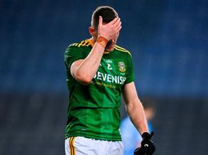 Bryan Menton of Meath after the Leinster final loss to Dublin. Photo: Sportsfile. Photo: Sportsfile