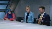 The final three - Nurun, Roisin, and James were forced to fight for their place on The Apprentice