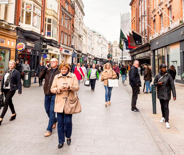 Dublin's Grafton Street (Stock photo)