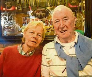Nell McGroddy and her husband John