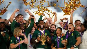 South Africa haven't played a game since beating England in the World Cup final. Image credit: Sportsfile.
