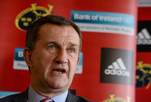 Munster Rugby CEO Garrett Fitzgerald says the province has helped top coaches to achieve their ambitions