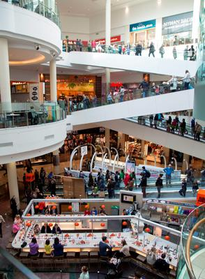 The Dundrum Town Centre which is attracting overseas buyers