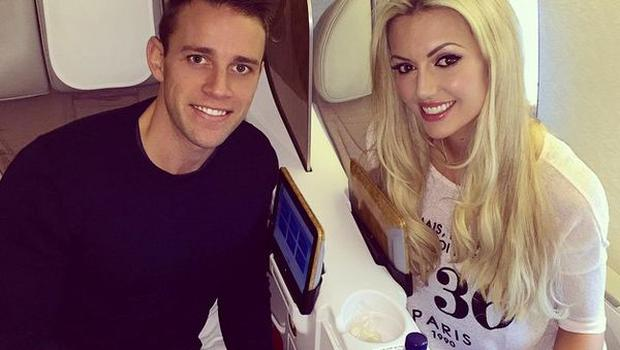 Rosanna Davison and husband Wesley Quirke