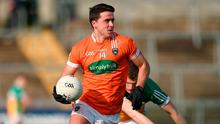Armagh's Stefan Campbell. Photo: Philip Fitzpatrick/Sportsfile