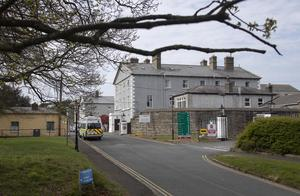 17/04/2020 St. Mary's Hospital, Phoenix Park, pictured this afternoon, which has recorded 11 Covid-19 related deaths over the past two weeks .Picture Colin Keegan, Collins Dublin