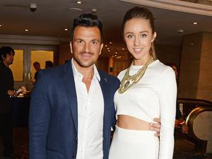 LONDON, ENGLAND - JULY 04:  Peter Andre Emily Macdonagh attends the Nordoff Robbins 02 Silver Clef awards at the London Hilton on July 4, 2014 in London, England.  (Photo by David M. Benett/Getty Images)