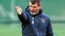 Roy Keane continues to populate the back pages while Ireland's poor form has been pushed to the margins. Photo: David Maher / SPORTSFILE