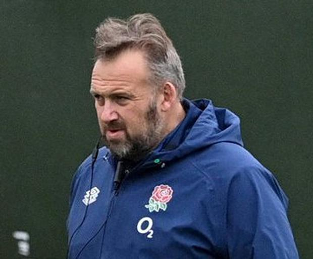 England assistant coach Matt Proudfoot was full of compliments about Ireland's pack. Photo: Reuters