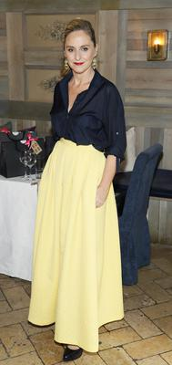 Debbie O'Donnell at the Bobbi Brown Dress For Success charity lunch at Residence