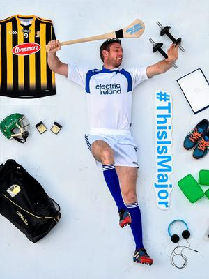 Kilkenny's Michael Fennelly pictured at the launch of the Electric Ireland #ThisIsMajor campaign ahead of the resumption of the minor championships