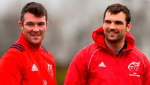 Peter O'Mahony and Tadhg Beirne will be looking to disrupt Exeter possession. Photo: Sportsfile