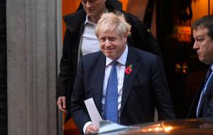 Progress?: Boris Johnson said his government was accepting the extension against its will. Photo: Pete Summers/Getty Images