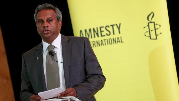 Salil Shetty, Sectary General of Amnesty International pictured at the Amnesty International launch of a new major report into abortion.  Photo: Maxwells