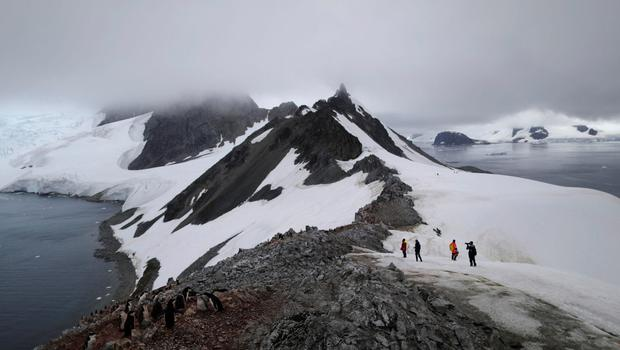 Hotting up: Parts of Antarctica are among the fastest warming regions on Earth. Picture: Reuters
