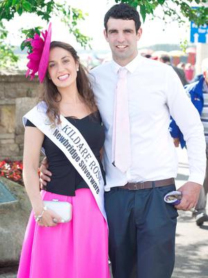 Ailish Brennan, from Monastervin, and Robbie Ennis from Kildare.