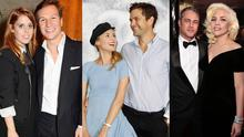 (L to R) Princess Beatrice and Dave Clark; Diane Kruger and Joshua Jackson and Taylor Kinney and Lady Gaga