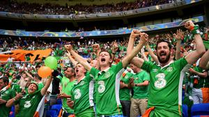 Ireland fans will be hoping to qualify for Euro 2020 - and then get tickets