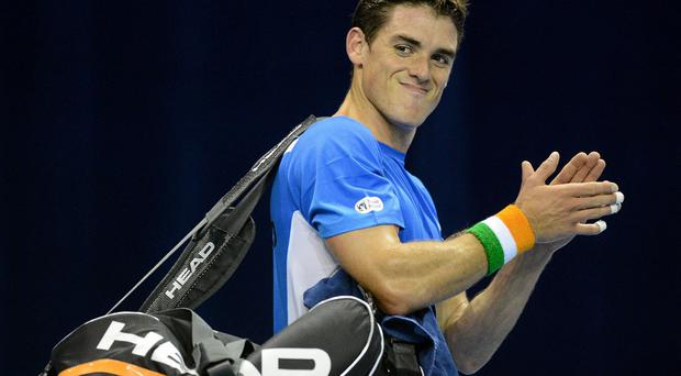 James McGee who is playing in a US challenger this week