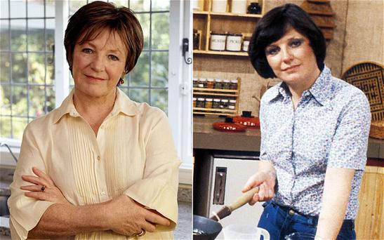 Delia Smith has vowed not to return to TV.
