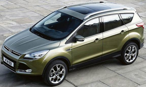 The new Ford Kuga