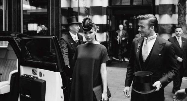 Victoria Beckham wore a Treacy creation to the Royal Wedding last year.