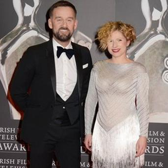Brendan Courtney and Sonya Lennon at the IFTAs.