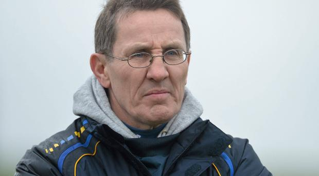 29 January 2013; DCU manager Niall Moyna. Irish Daily Mail Sigerson Cup, Preliminary Round, UL v DCU, University of Limerick, Limerick. Picture credit: Diarmuid Greene / SPORTSFILE