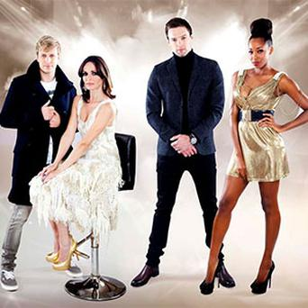 The mentors from series two of The Voice of Ireland