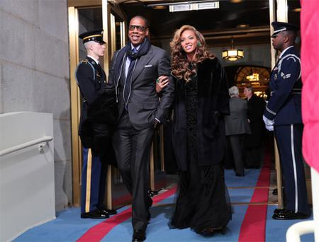 PETA also remarked on the black fur Dior coat Beyoncé wore when she sang at President Obama's inauguration. Photo: Getty