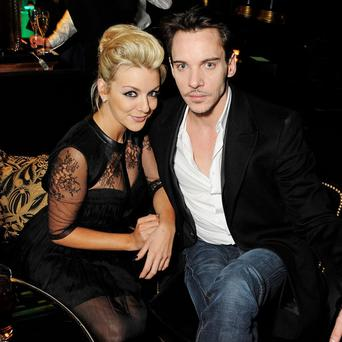 Actress Sheridan Smith and Jonathan Rhys Meyers were among the many guests at the star-studded event