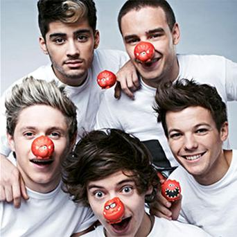 One Direction release this year's comic relief single