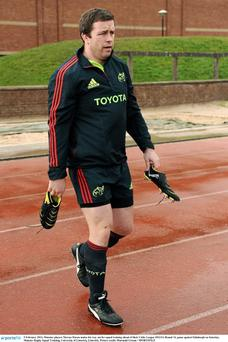 Munster player Marcus Horan