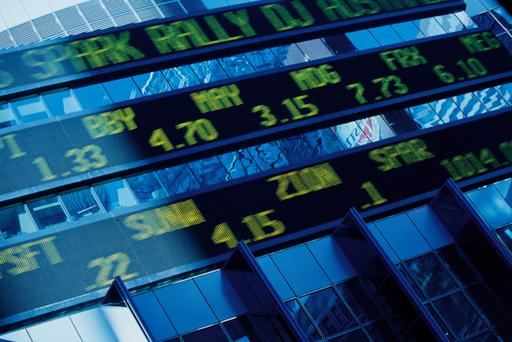 Digital stock market listings