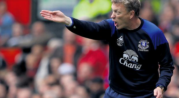 David Moyes has another chance to stake his case to succeed Alex Ferguson when Everton play at Old Trafford on Sunday