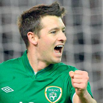 Wes Hoolahan made an impression when he came on as substitute against Poland on Wednesday scoring Ireland's second goal