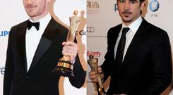 Michael Fassbender and Colin Farrell will not attend this year's IFTAs.