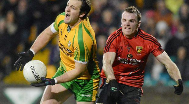 Michael Murphy was on target with 0-6 for Donegal