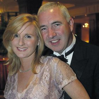 Sean Dunne and his glamorous wife Gayle Killilea-Dunne