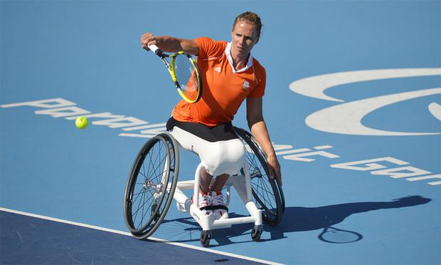 Esther Vergeer has dominated women's wheelchair tennis over the past decade