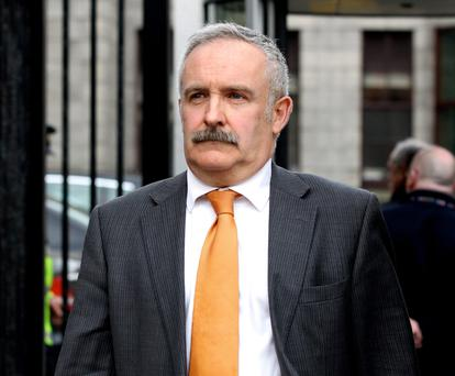 Paul Drury at the High Court