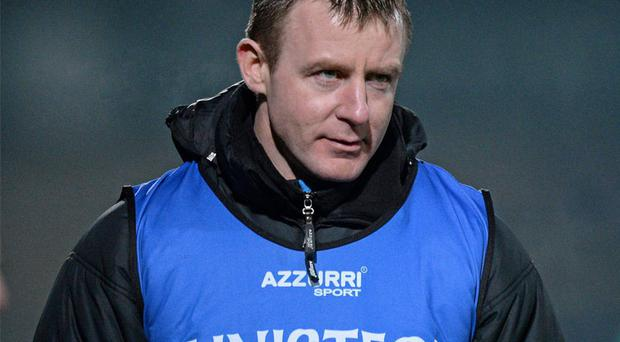 Laois manager Justin McNulty