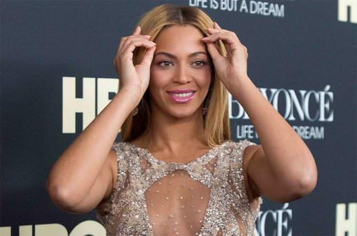 Singer Beyonce attends HBO's New York premiere of her documentary