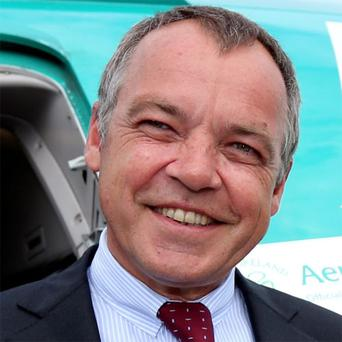 Christoph Mueller: bookings are strong at Aer Lingus