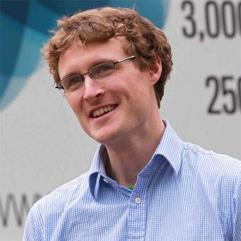 Paddy Cosgrave: founded Dublin tech event in 2010