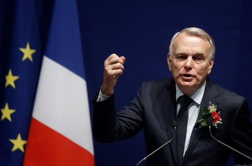 France's Prime Minister Jean-Marc Ayrault