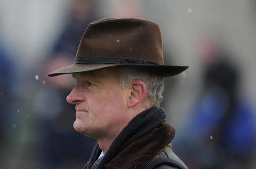 Champion trainer Willie Mullins