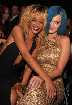 Pictured at the Grammys last year, the pair are no longer friends