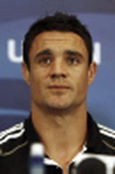 Crusaders star Dan Carter
