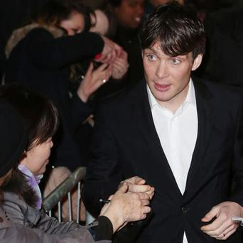 Cillian Murphy at the premiere of 'Broken' in the Savoy Cinema last night, which opened the 2013 Jameson Dublin International Film Festival.